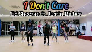 Ed Sheeran  Justin Bieber – I Don't Care || ZUMBA || FITNESS || DANCE || At Global Sport Balikpapan