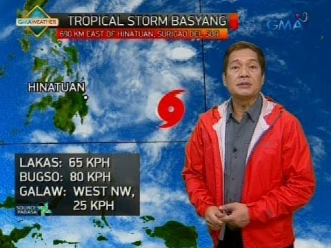 Weather update as of 6:00 a.m. (February 12, 2018)