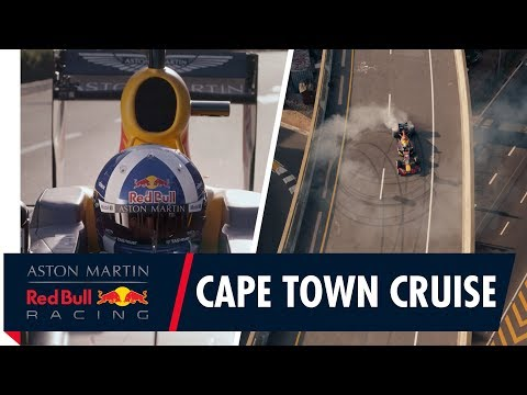 Aston Martin Red Bull Racing Hits the Streets of Cape Town South Africa