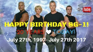 STARGATE SG1  20th Anniversary Trailer - Created by Cyril aka MacPhoenix82