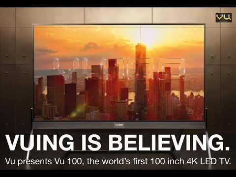 Vu Launches the World's largest Television!