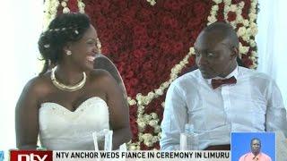 NTV anchor Ken Mijungu weds fiancee Laureen