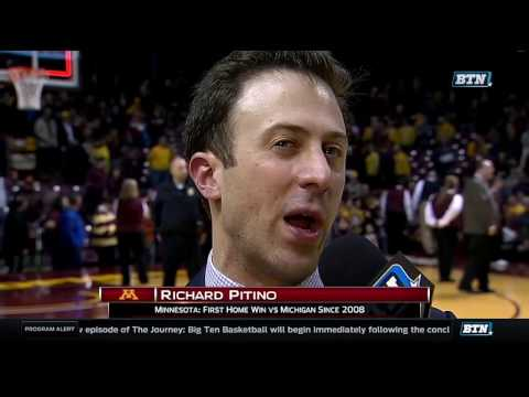 Richard Pitino Talks Win Over Michigan