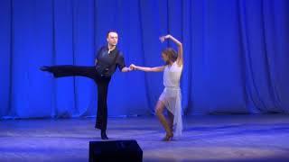 23.Батин Александр, Батина Анастасия (Студия бального танца DA WINchi)