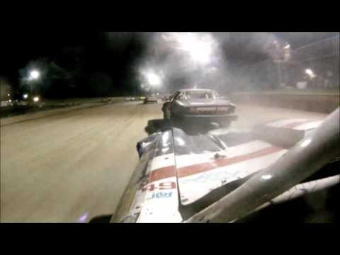 Brighton Speedway ProStock Duel On Dirt Feature Sept 26 2015 - dirt track racing video image