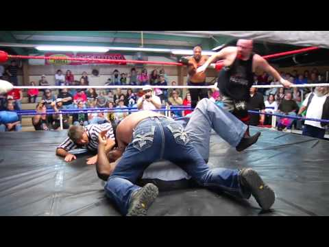 Bobby Brantley's first wrestling match!