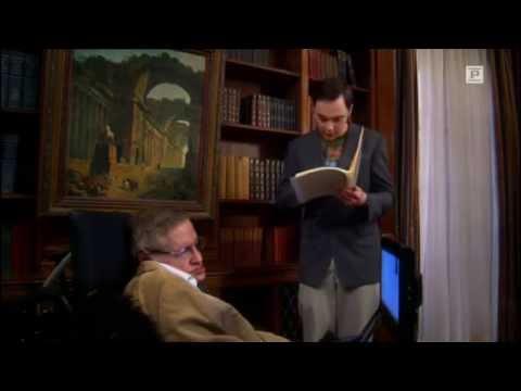 The Big Bang Theory - Sheldon trifft Stephen Hawking (deutsch)