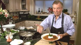 Chef Jacques Pepin & Sunburst Trout- Canton, North Carolina