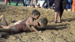 Little GAMA Pahlwan  vs Guru Bhem Akhada wrestler 00110