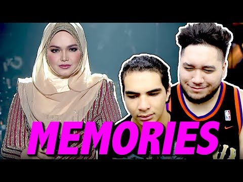 Dato' Siti Nurhaliza & Friends Concert - Memories (Whitney Houston Tribute) (Live) REACTION!!!