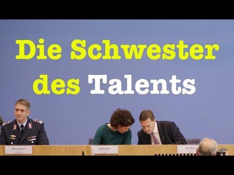 8. November 2017 - Komplette Bundespressekonferenz