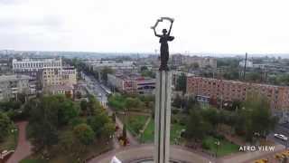 Калуга с высоты птичьего полёта – площадь Победы