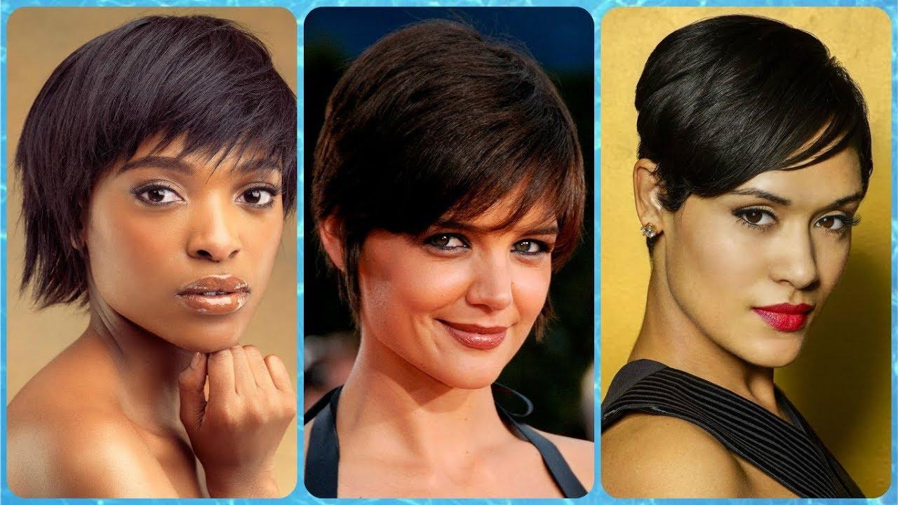 Unsere top 21 kurzhaarfrisuren damen dunkle haare für frauen