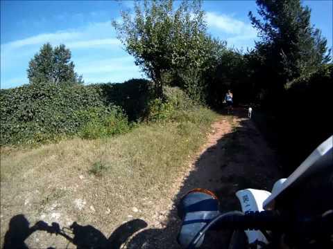 GoPro on KLR 600
