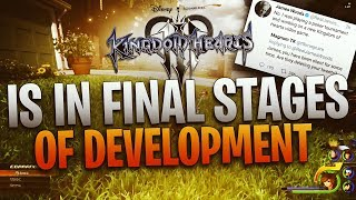 Kingdom Hearts 3 is in the Final Stage of Development!