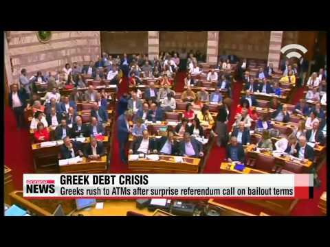 Greece to keep banks shut, introduce capital controls as debt crisis deepens   그