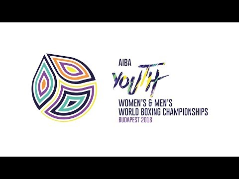 AIBA Youth World Championships, Budapest 2018 – Day 6 Session 1 - Ring A