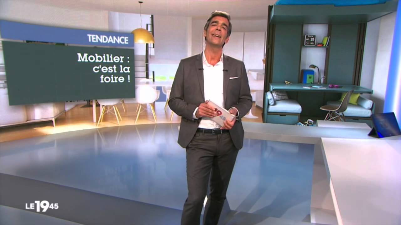 espace loggia foire de paris 2014 sur m6 youtube. Black Bedroom Furniture Sets. Home Design Ideas