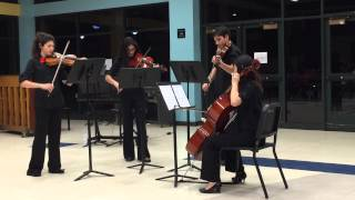 BHS String Quartet: Paragon Rag by Scott Joplin