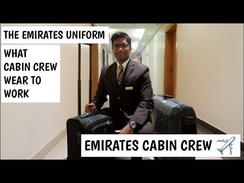 Emirates Cabin Crew: Wearing the Emirates Cabin Crew Uniform, Winter Edition | Vienna