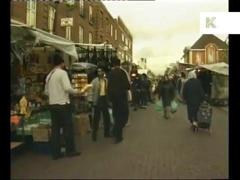 1990s Walthamstow Market, East London