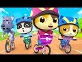 看看誰更快   2020學顏色兒歌童謠   卡通   動畫   寶寶巴士   BabyBus