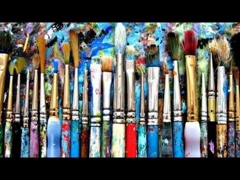 How to clean oil & acrylic paints from your paintbrushes