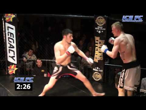 ICE FC 11 Dylan McLoughlin vs Harry Brereton
