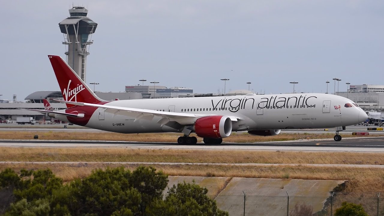 Virgin Atlantic Boeing 787 9 Dreamliner G Vnew