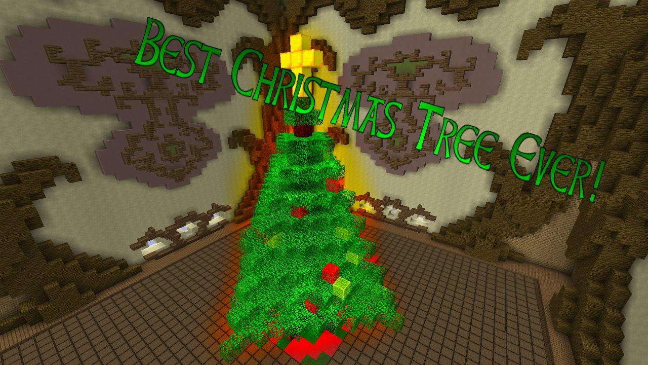"Minecraft BUILD BATTLE ""BEST CHRISTMAS TREE EVER"" W"