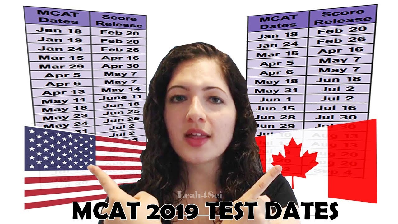 2019 MCAT Test Dates (US/Canada) and What it Means for You