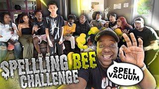 Spelling Bee Challenge  . . . WINNER WINS $1000
