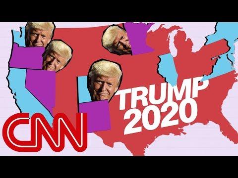 donald-trump's-narrow-2020-map