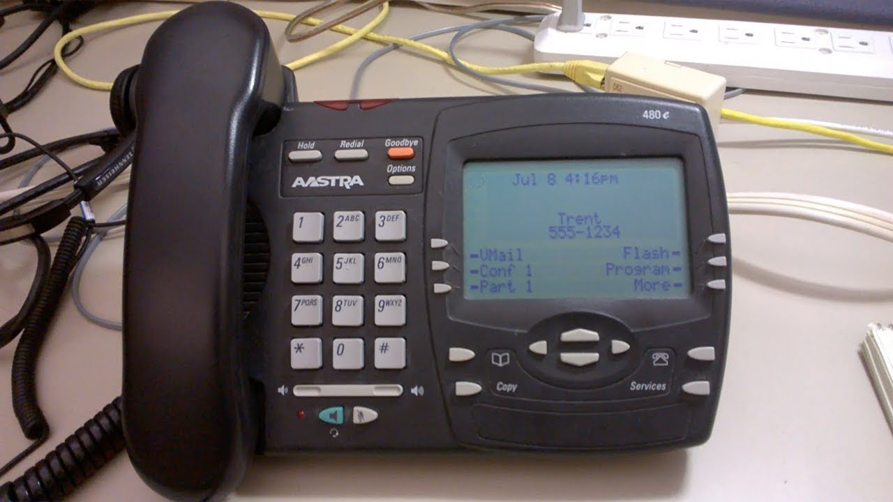 Aastra 6737i VoIP IP Gigabit Phone A6737-0131-10-01 37i D-Stock w// Stand