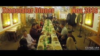 Meet Your Translator Dinner - Ukraine Quest Romance Tour Nov 2016(Having a Translator with you on your journey to find your half is the best way to have success. Here is where men on their Quest Tour meet their Translator for ..., 2017-02-25T01:58:33.000Z)