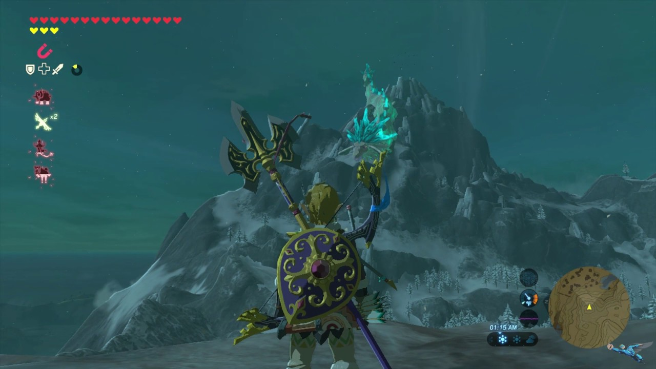 Where To Get Shard Of Naydras Horn In Zelda Breath Of The Wild