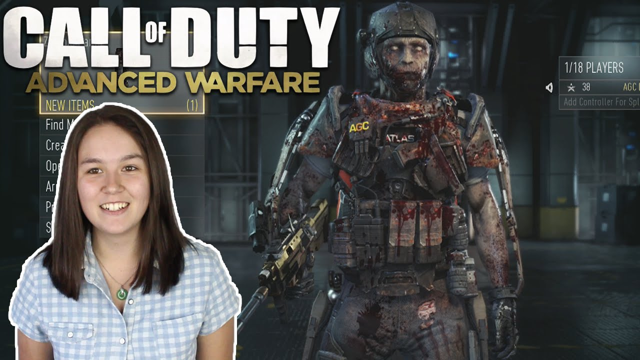 Call of duty advanced warfare cod aw zombie outfit youtube