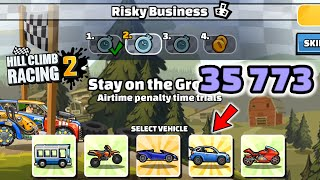 Hill Climb Racing 2 - 35773 points in RISKY BUSINESS Team Event
