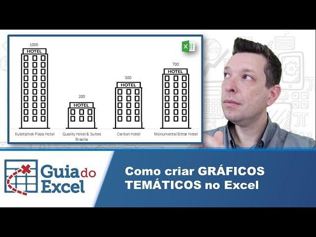 Como criar Gráficos temáticos no Excel
