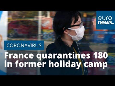 France quarantines 180 in former holiday camp as coronavirus precaution