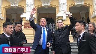 Bản sao Kim Jong-un và Donald Trump đi thăm Hà Nội | VTC1