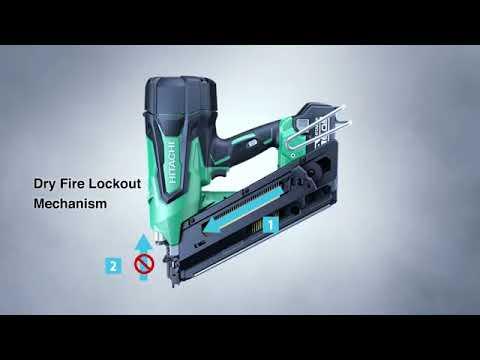Hitachi 18V Brushless Framing & Finish Nailers