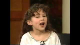 Hallie Eisenberg interview. 2000.Age 8
