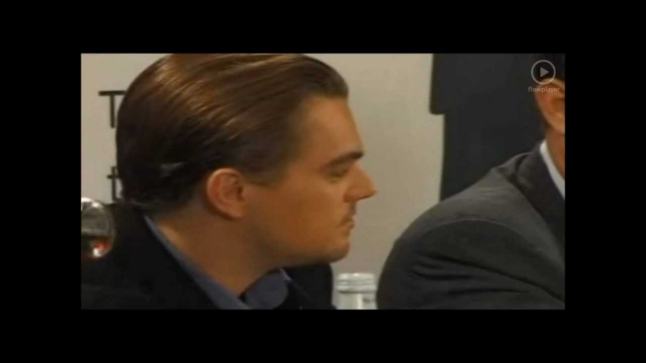 Leo Dicaprio Press Conference Catch Me If You Can Youtube