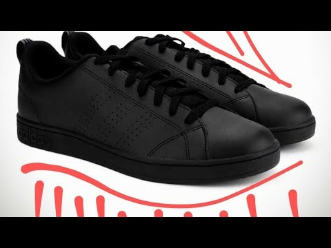 ADIDAS NEO black leather shoes review