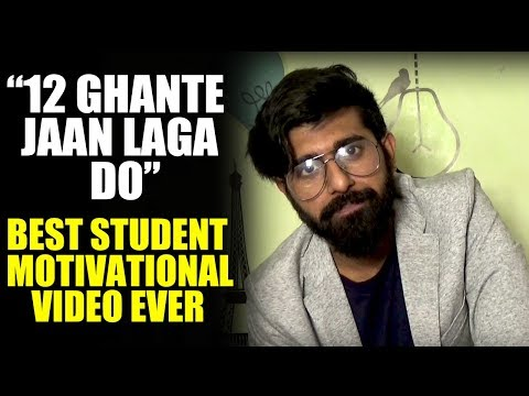 Mensutra: How to Study For 12 Hours a Day! Best Studying Hindi Motivational video