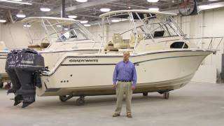 Grady-White MARLIN 300 Walkthrough with Eric Sorensen