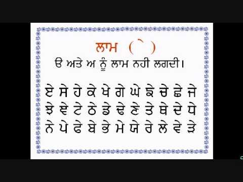 LEARNING MUHARNI GURMUKHI  (PURA-SAMPURN) By Dr Varinder Gill Damdami Taksal