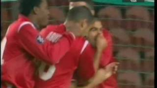 salim toama scoring the first against psg סלים טועמה