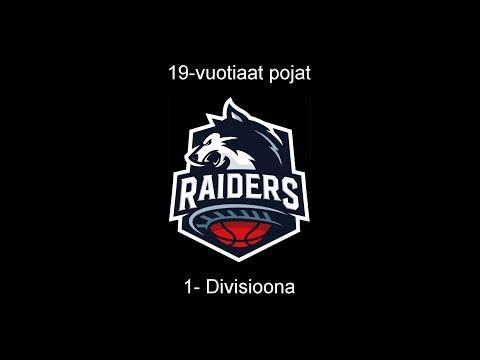 PuHu - Raiders 06.10.2018 U19 1-divisioona